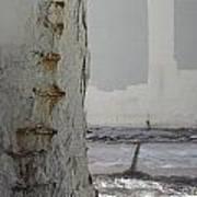 Bridge Column Decay 3 Art Print