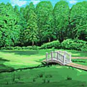 Bridge Art Print by Good Taste Art