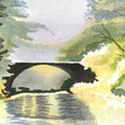 Bridge In Shadows Art Print