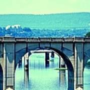 Bridge Of Arches Art Print