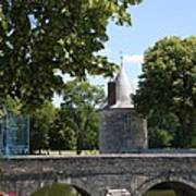 Bridge Over Chateau Moat Art Print