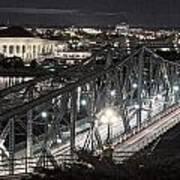 Bridge Over Ottawa River Art Print