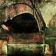 Bridge Over The Canal Art Print