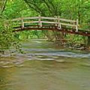 Bridge Over Valley Creek Art Print