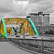 Bridge Pop Art Print