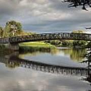 Bridge To 18th Green Art Print