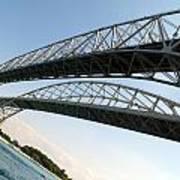 Bridge To Canada 02 Art Print
