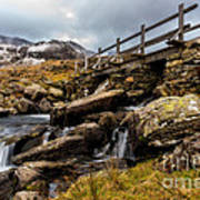 Bridge To Idwal Art Print