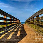 Bridge To The Beach Art Print