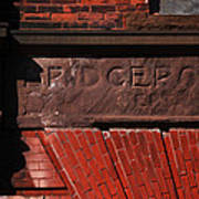 Bridgeport In Stone Art Print