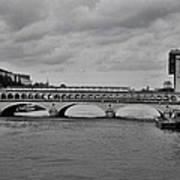 Bridges In Paris Art Print