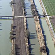 Bridges Over Channels, Vix Art Print