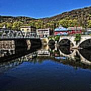Bridges To Buckland Art Print