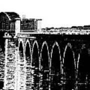 Bridging The Boyne Art Print