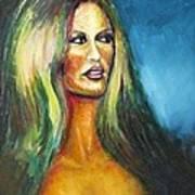 Bridgit Bardot Art Print