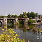 Bridgnorth Bridge Art Print