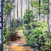 Bridle Path Art Print