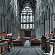 Bridlington Abbey Art Print