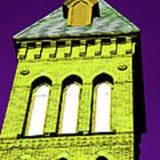 Bright Cross Tower Art Print