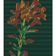Bright Flowers - 3 Art Print