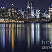 Bright Lights Big City Art Print by Marco Crupi