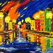 Bright Night Art Print