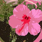 Bright Pink Art Print