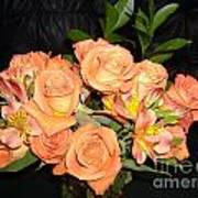 Bright Roses Art Print