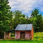 Bright Wood Shed Art Print by Jason Brow