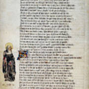 Brigit Of Kildare (d Art Print