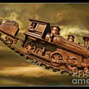 Bringhurst Special Train Art Print
