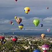 Bristol Balloon Fiesta Bristol Art Print