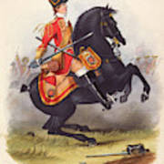 Britain  A Member Of The Second Dragoon Art Print