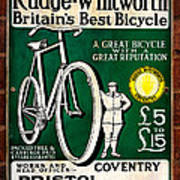 Britains Best Bicycle Art Print