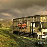 British Cargo Art Print