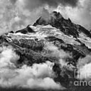 British Columbia Tantalus Mountain Range Art Print