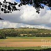 British Countryside Sussex Uk Art Print