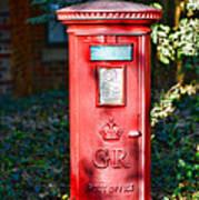 British Mail Box Art Print
