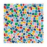 British Mosaic Multi Art Print