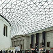 British Museum - The Entrance Art Print