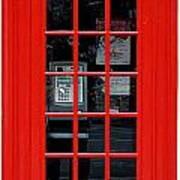 British Phone Box Art Print