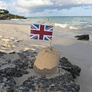 British Sandcastle Art Print