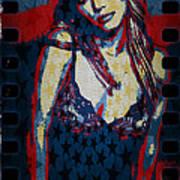 Britney Pop Art Art Print