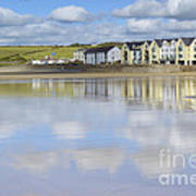 Broad Haven Clouds Art Print