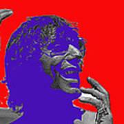 Broadway Joe Namath Telling Football Story C.c. And Co. Set  Tucson Arizona 1970-2012 Art Print