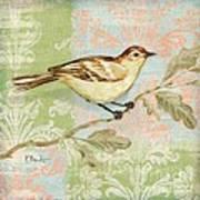 Brocade Songbird I Print by Paul Brent