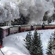 Brockenbahn Art Print
