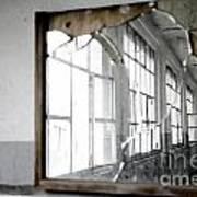 Broken Mirror Art Print