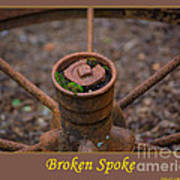 Broken Spoke Art Print