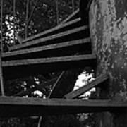 Broken Stairs Art Print